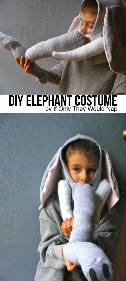 Halloween Costume Elephant
