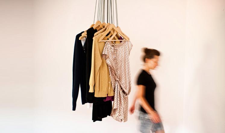 Blog bazar dressing ouvert - Porte manteau original ...