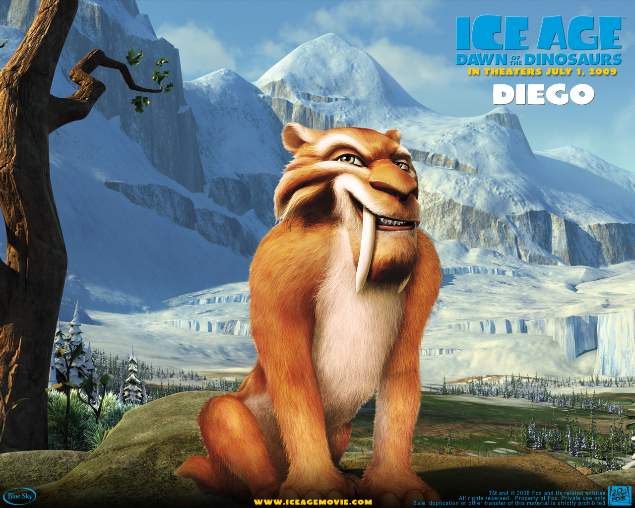 Cartoons ICE AGE Wallpapers ~ My Wallpapers