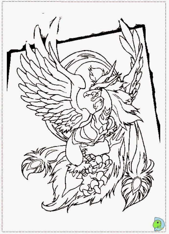 Dinokids - Desenhos para colorir: Desenhos de Beyblade para colorir
