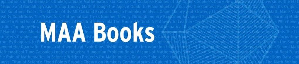 MAA Books