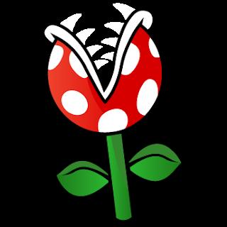 planta piraña Dibujos mario bros para imprimir