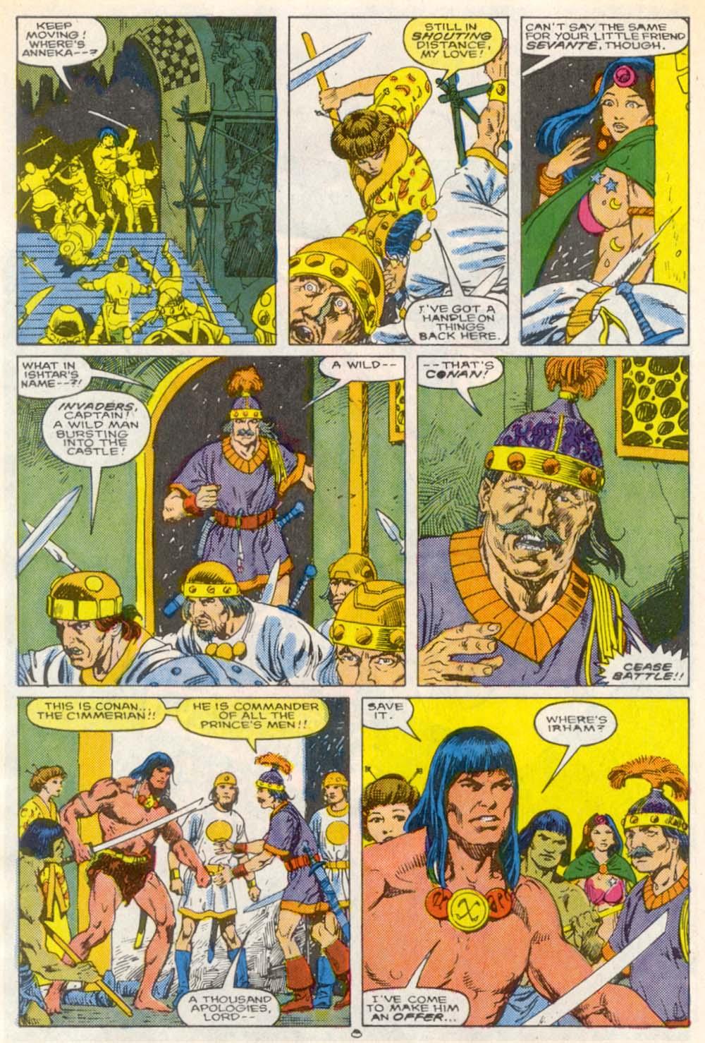 Conan the Barbarian (1970) Issue #209 #221 - English 7