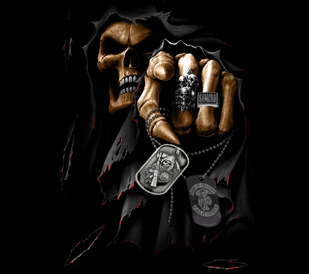 sons of anarchy reaper wallpaper wwwimgkidcom the