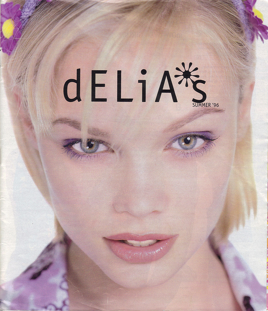 Delia's Summer 1996 Catalogue || Allegory of Vanity