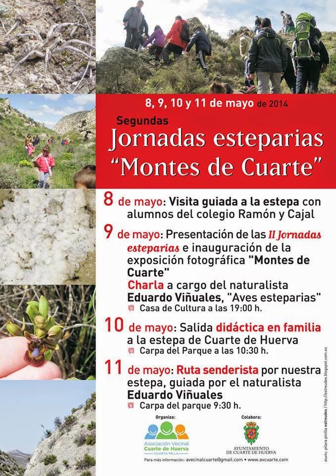 """Jornadas Esteparias  """"Montes de Cuarte"""" 2014"""