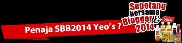 Penaja Rasmi SBB2014 Yeo's