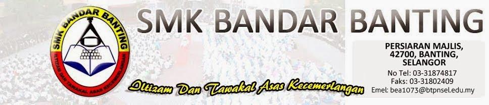 Blog Rasmi SMK Bandar Banting