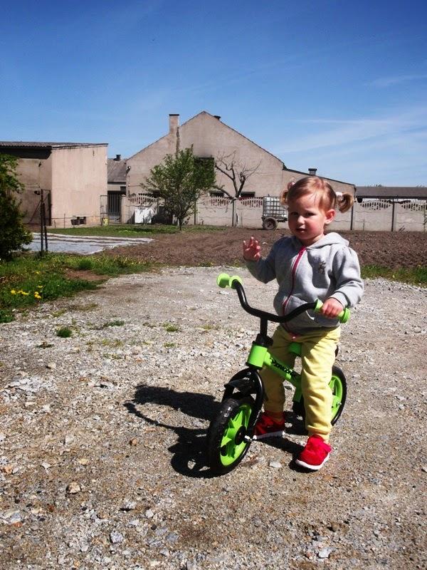 rowerek biegowy milly mally dla dwulatki
