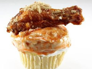 chicken wing cupcakes