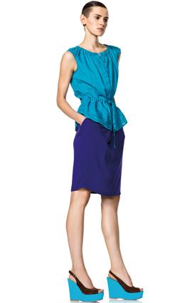 faldas verano 2012 Benetton