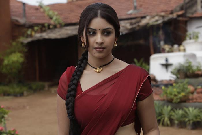 richa gangopadhyay saree from osthi movie actress pics