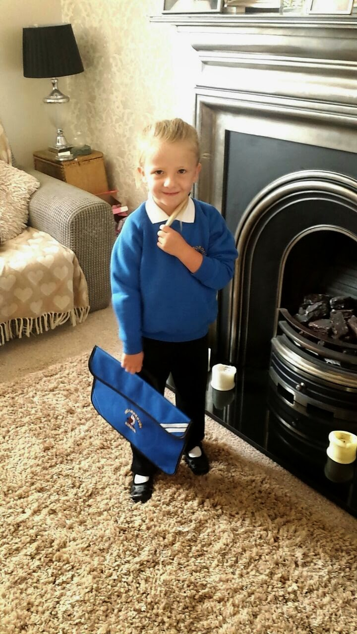 First Day at School xx
