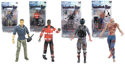 Le prime action figures di World War Z dalla Jazwares