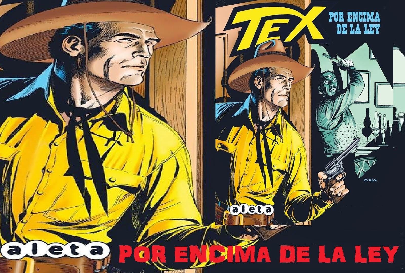 Crítica a - Tex Por encima de la Ley, en Hello Friki
