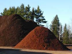 Single or Double-Shredded Pure Hardwood Bark Mulch
