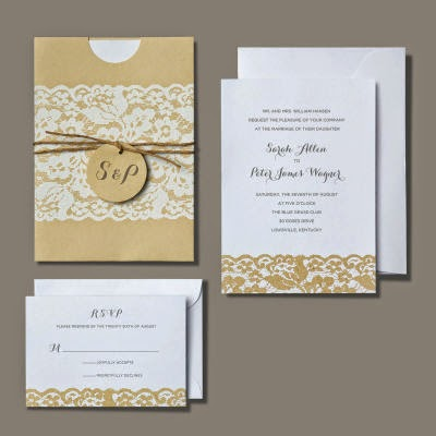 Wedding Invitations First Things I Bought A Kit At Michaels Craft Store There Were The BRIDES Brand Dont Sell Them Online But HERE Is