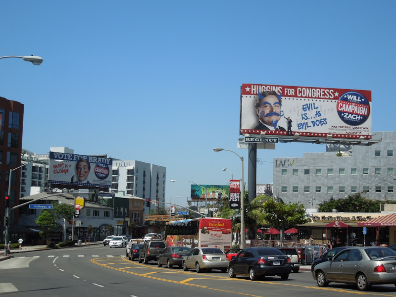 Campaign movie billboards