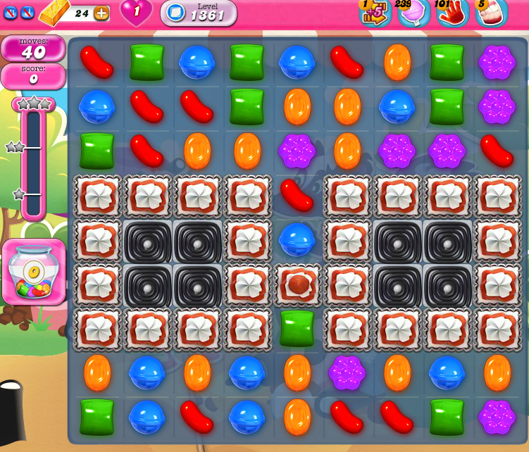 Candy Crush Saga 1361