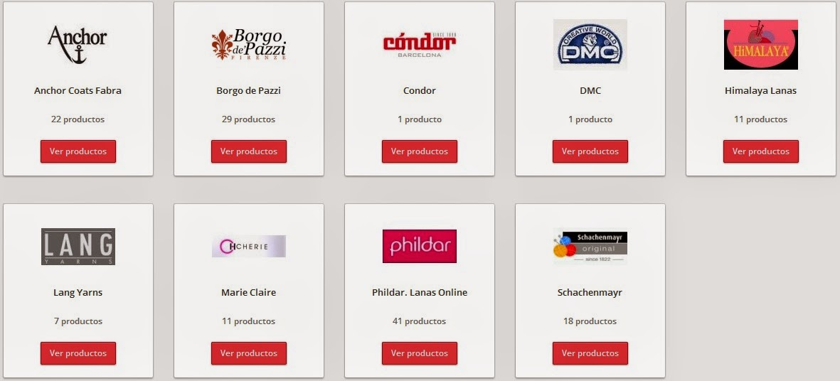 Lanas Online en Mercería Brualla