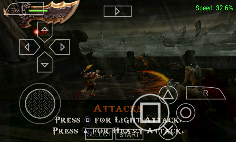 free download god of war ghost of sparta for psp