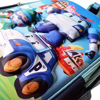 Gm toys store robocar poli 3d bags single zip double zip ready stock pm or whatsapp 017 - Radio car poli ...