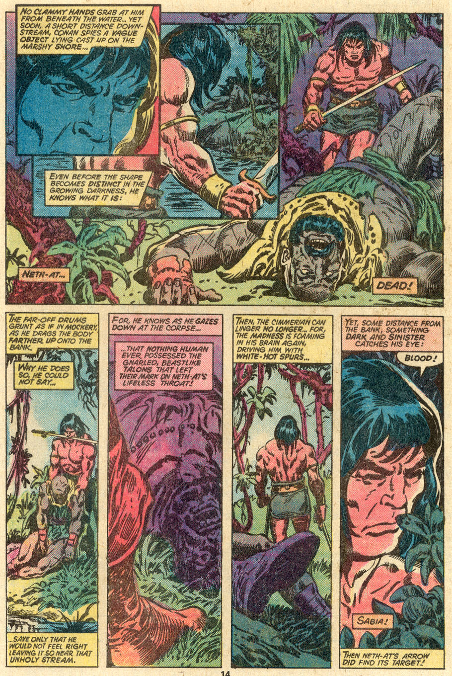 Conan the Barbarian (1970) Issue #83 #95 - English 9