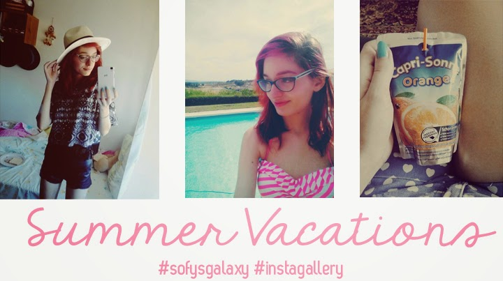My Summer Vacations + instagram gallery