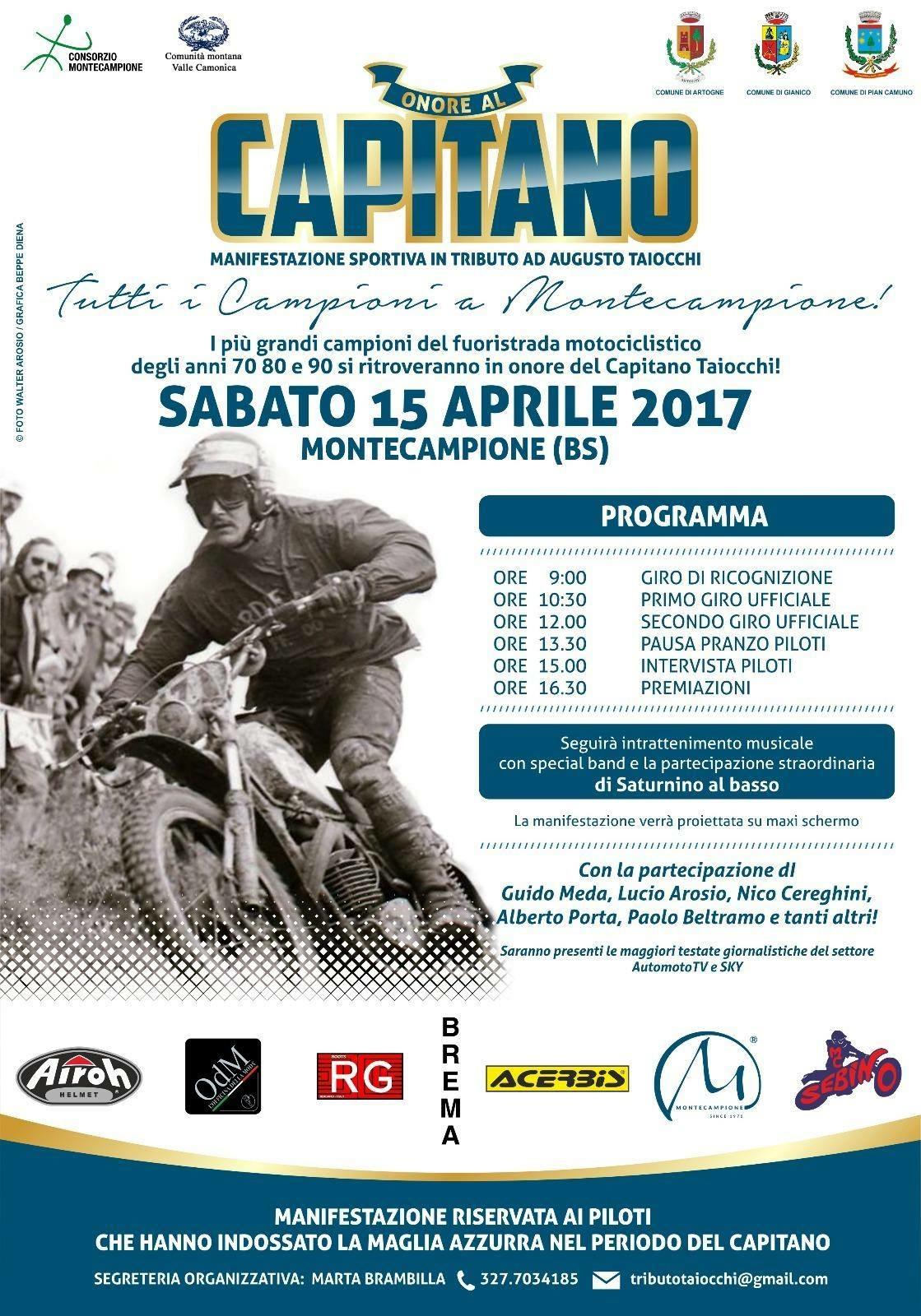 ONORE AL CAPITANO 2017