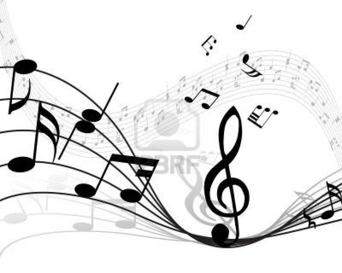 Nota Musical Cosas Con Antecedentes De Vectores Y Lineas De Notas