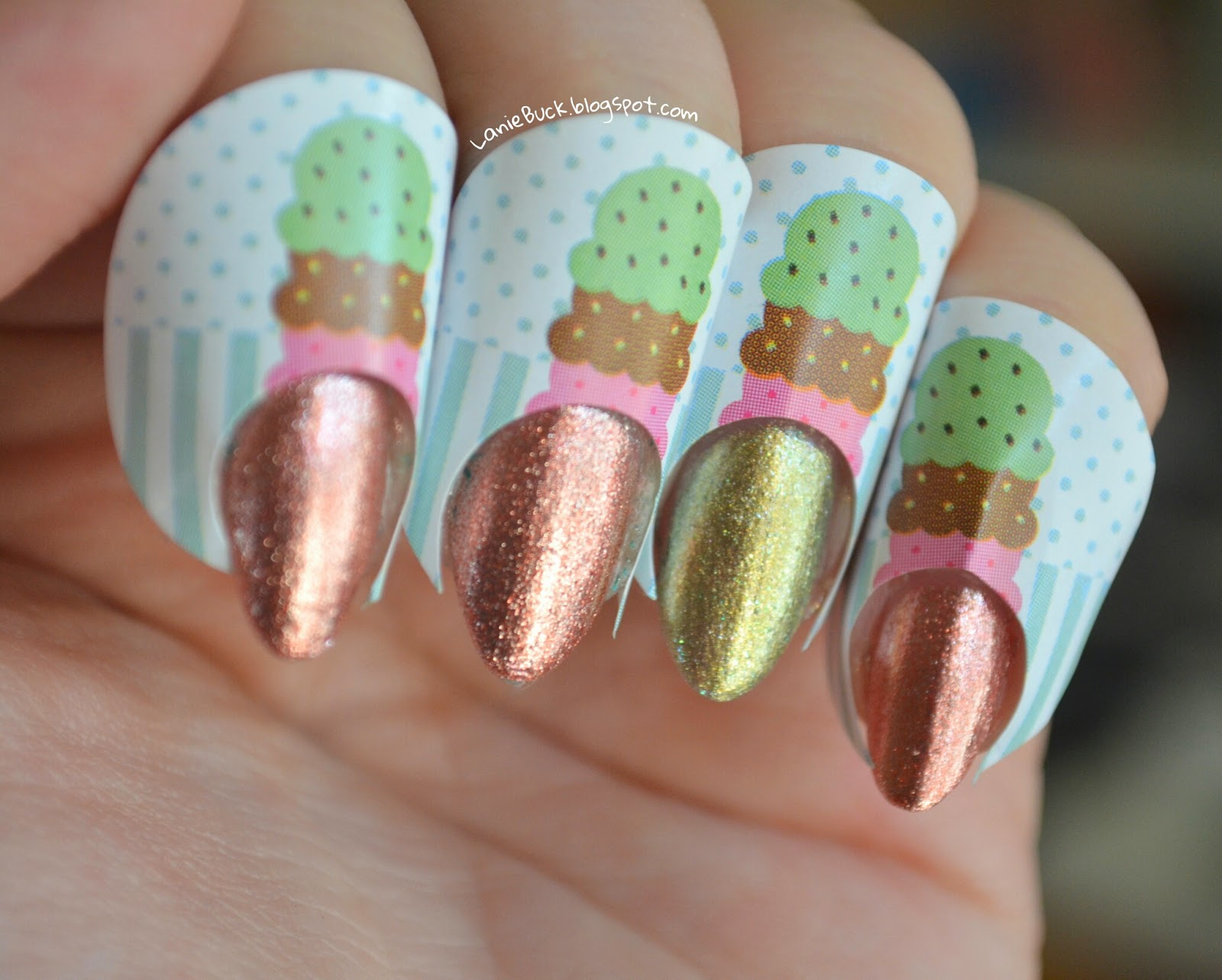 Product Review- Nail Cones Stickers