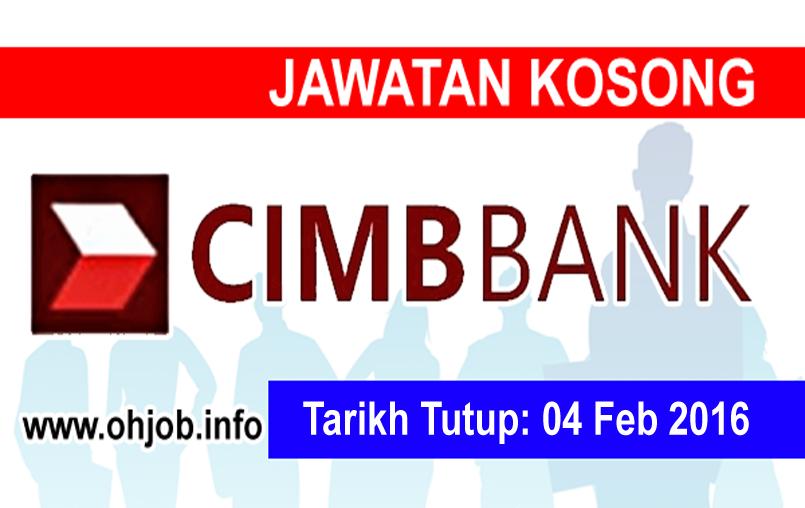 Jawatan Kerja Kosong CIMB Group logo www.ohjob.info februari 2016