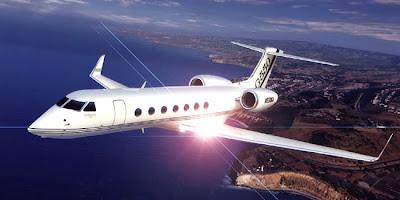 Pesawat Gulfstream Jet