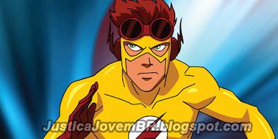 Kid Flash em Justiça Jovem (Young Justice)
