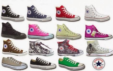 Gambar Model Sepatu Converse All Star Untuk Sekolah