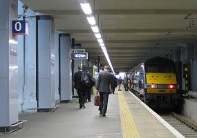 Platform 0, cropped from http://en.wikipedia.org/wiki/File:Kings_Cross_Platform_0.jpg