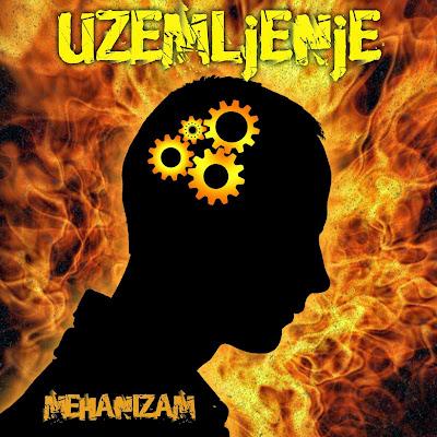Cover  UZEMLjENjE album Mehanizam