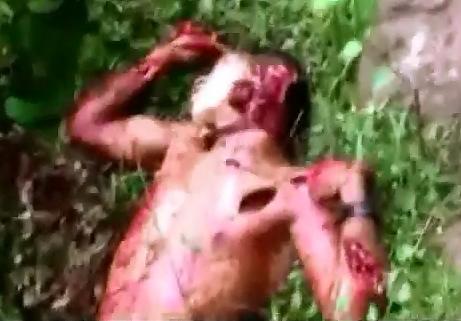 Asesinado a Machetazos