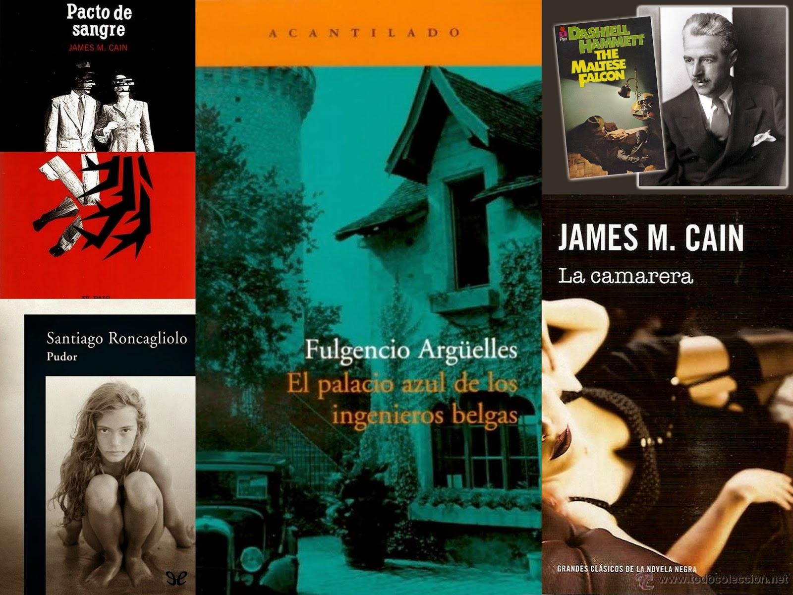 Roncagliolo, Asturias, James M. Cain, Dashiell Hammett