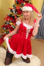 "Merry Christmas from Nikki F. at ""Layered Nylons"""