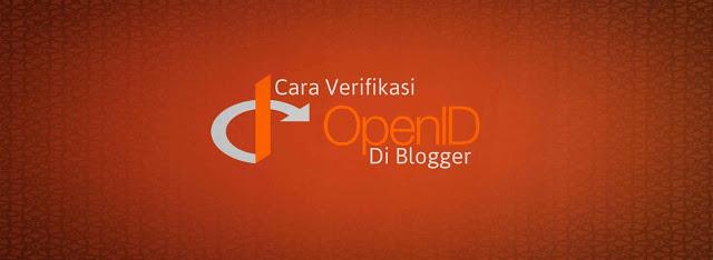 Cara Verifikasi OpenID di Blogger