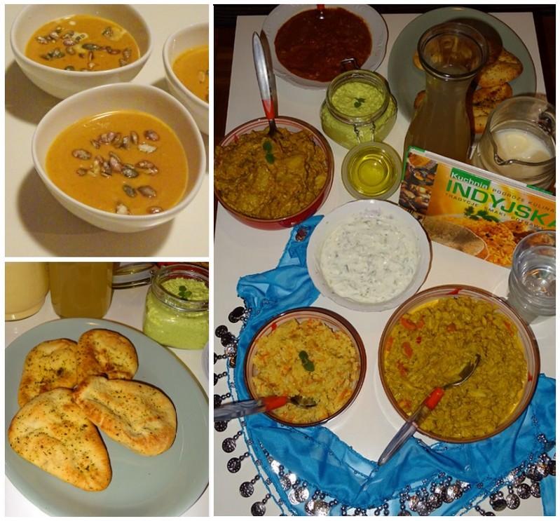 wieczór kuchni indyjskiej