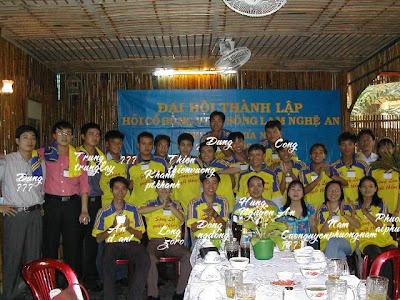 Ngảy thành lập hội SLNA FC Phía Nam