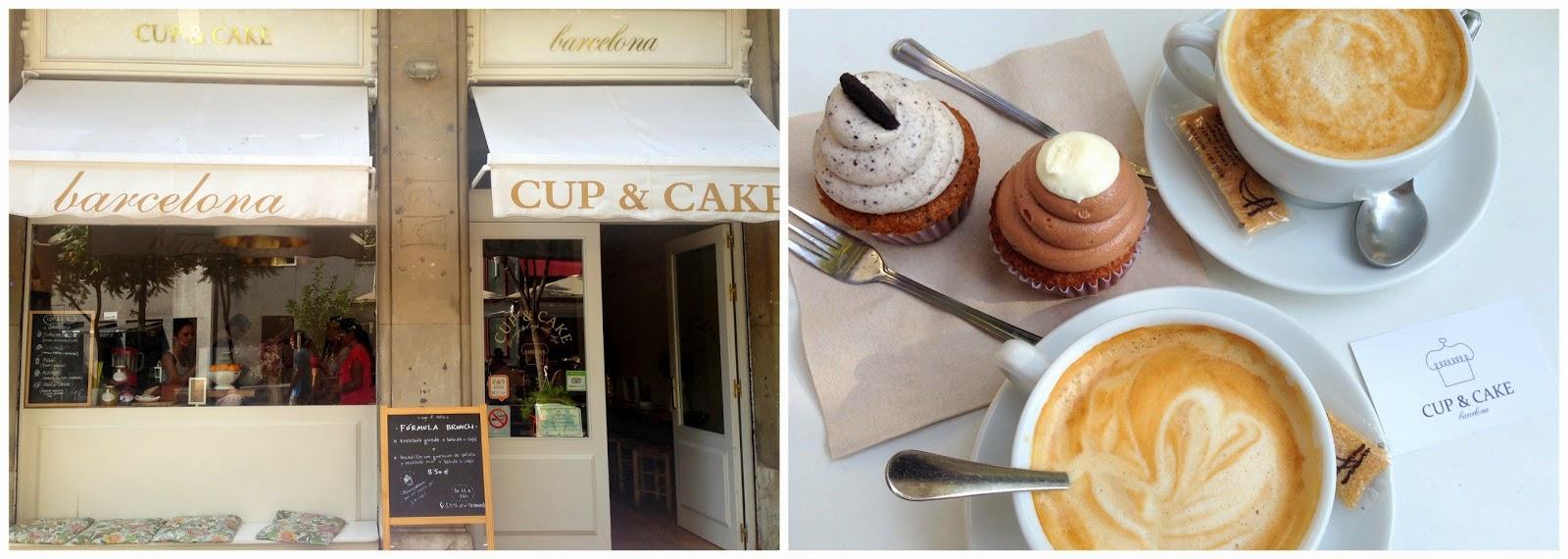 cup&cake barcelona desayuno dulce cafe