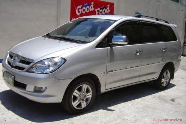 Cho thuê xe Toyota Innova 7 chỗ tại Hà Nội
