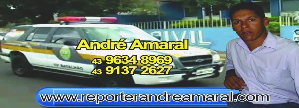 Repórter André Amaral