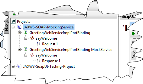 http://tutorialbyexample.blogspot.com Deploying SOAP Web Services as Mock Service By SoapUI WAR in Tomcate Tutorial project directory