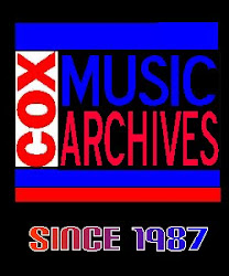 Cox Music Archives Channel ♫  COMING SOON  ♫