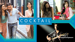 Diana Penty, Deepika Padukone, Saif Ali Khan, Hot HD High Resolution Wallpaper from Cocktail Bollywood Movie