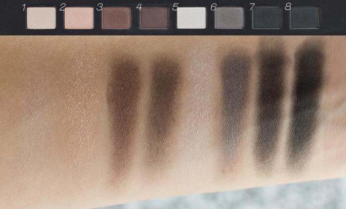 sephora vip pass envelope eyeshadow palette swatches